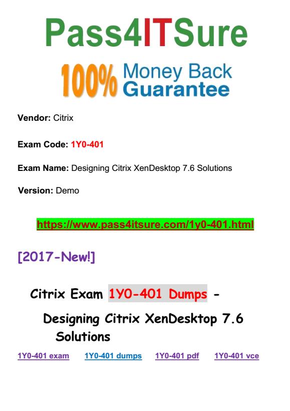 1Y0-401 dumps