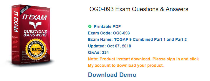 pass4itsure OG0-093