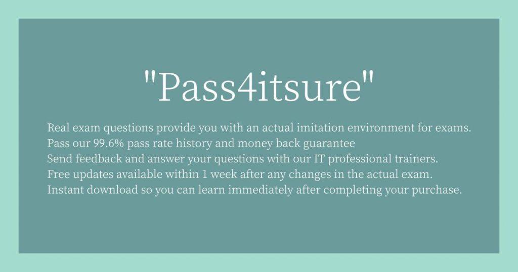 Pass4itsure